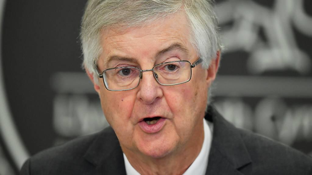 Der walisische Regierungschef Mark Drakeford