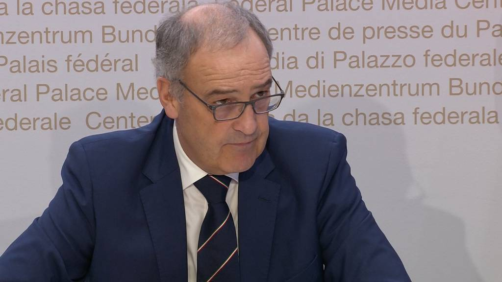 Bundesrat Guy Parmelin in Quarantäne