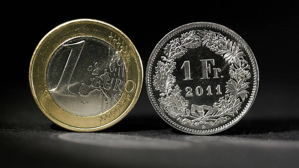 Seit Anfang Juni hat der Euro über 6 Prozent auf den Franken gutgemacht.