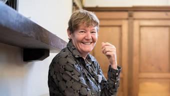 Barbara Wyss Flück ist zwar enttäuscht, dass es diesemal nicht zum Kommissionspräsidium gereicht hat, dafür ist sie aber glücklich über das zukünftige Kantonsratspräsidium.