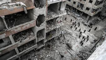 Schon jetzt sieht es in Ost-Ghouta aus wie damals in Aleppo.