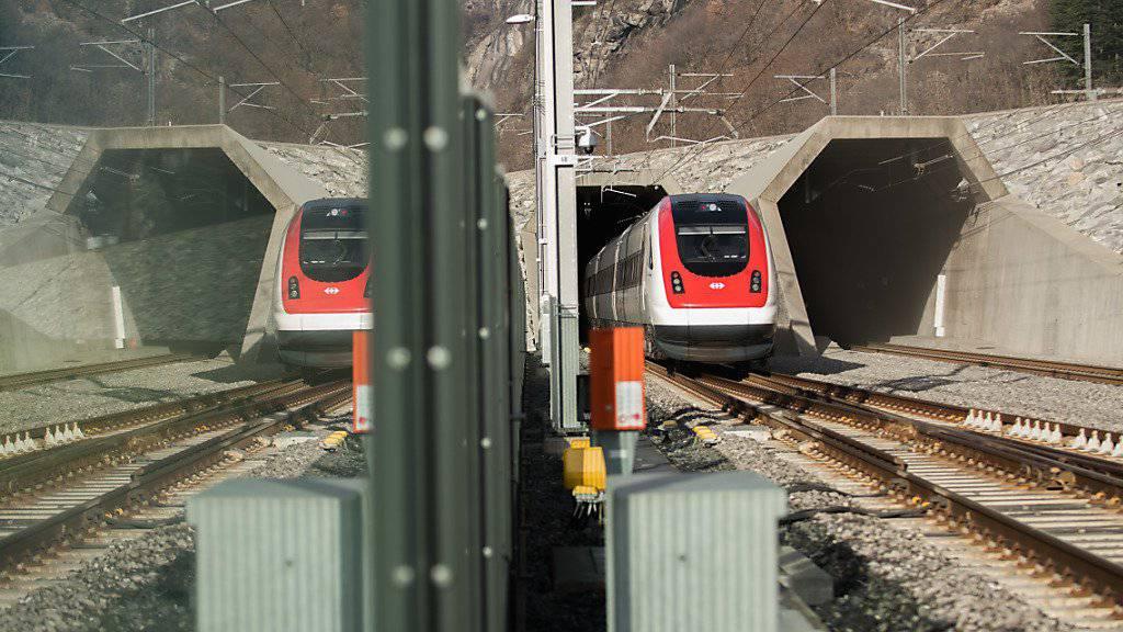 Züge auf Nord-Süd-Achse sollen pünktlicher werden