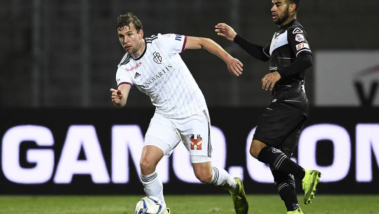 Fabian Frei erhält gegen Lugano die beste Note aller FCB-Spieler.