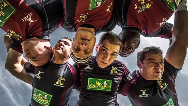 Die Spieler des Rugby-Club Würenlos spielen in dieser Saison zum zweiten Mal in Folge in der Nationalliga B Elite – dort wollen sie sich etablieren.ZVG