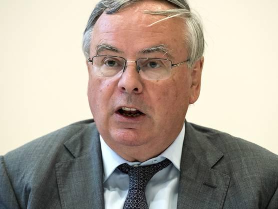 Gewerbeverbandspräsident Jean-François Rime (SVP).
