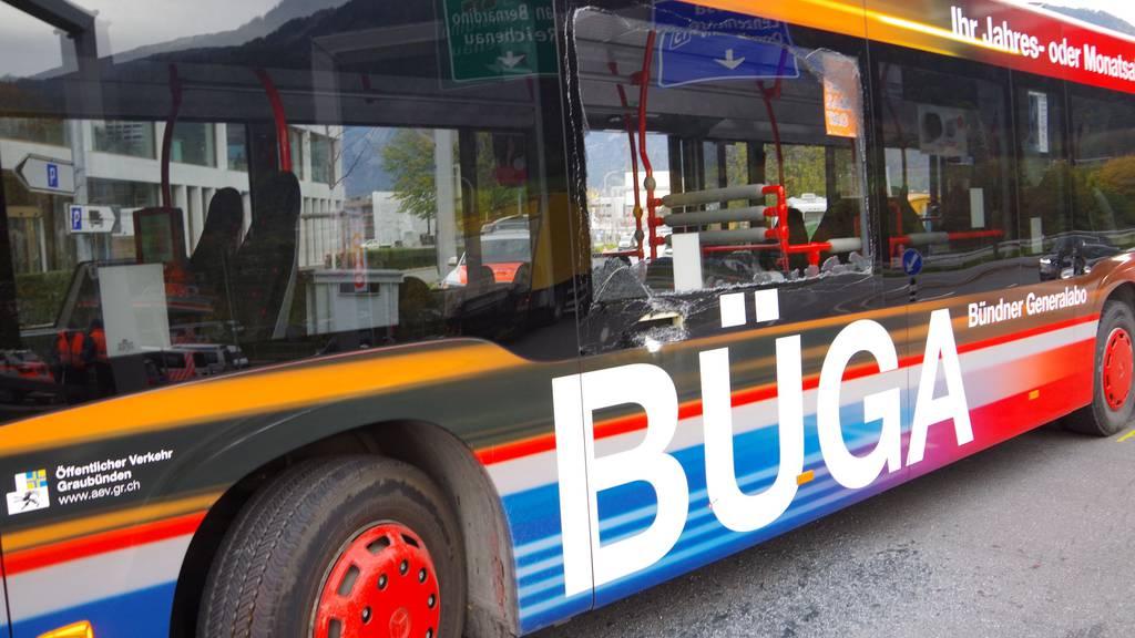 Am Stadtbus entstand durch die Kollision ein Sachschaden.
