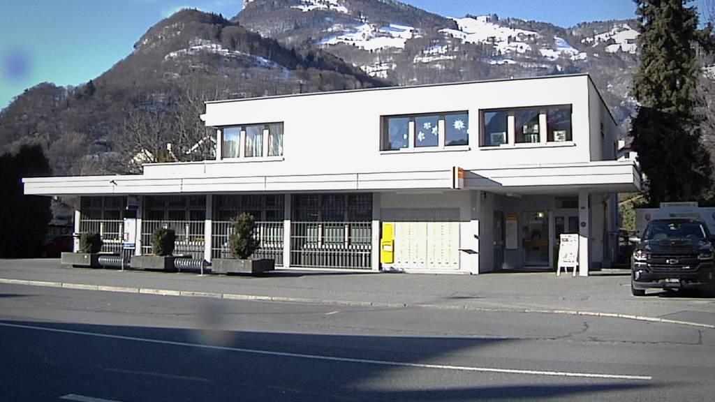 Das ist die letzte verbliebene Postfiliale in der Gemeinde Wartau.