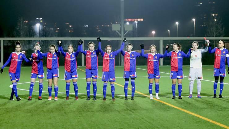 Die Frauenmannschaft des FC Basel konnte sich nach dem 4:0-Sieg im letzten Spiel der Hinrunde feiern lassen. Ein versöhnliches Ende eines anspruchsvollen Halbjahrs.