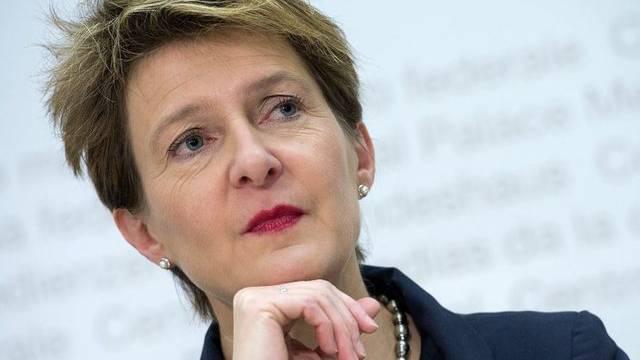 Bundesrätin Simonetta Sommaruga betont die Beudeutung Kroatiens für die Schweiz