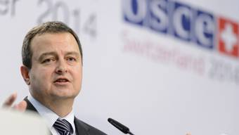 OSZE-Vorsitzender: Serbiens Aussenminister Dacic (Archiv)