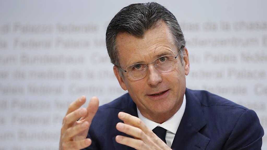 Der ehemalige Nationalbankpräsident Philipp Hildebrand sieht die Bedeutung der Schweiz im internationalen Kontext schwinden. (Archivbild)