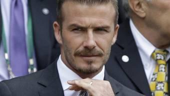 Pendelt zwischen London und Los Angeles während der Olympischen Spiele: David Beckham (Archiv)
