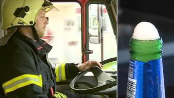 Feuerwehrleute im Einsatz sollen wieder Alkohol trinken dürfen, fordert BDP-Nationalrat Bernhard Guhl.