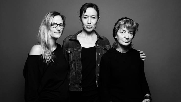 In den Startlöchern: Lea Muggli, Steffi Klär und Regine Wetterwald.