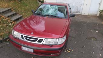 Die Täter beschädigten Autos, Briefkästen und eine Schaufensterscheibe.