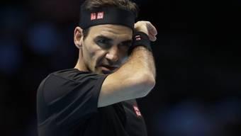 Federer scheitert an den ATP Finals an Stefanos Tsitsipas.