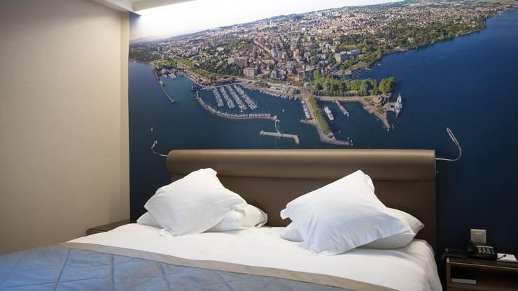 Leere Betten: Dem Schweizer Tourismus stehen harte Zeiten bevor.