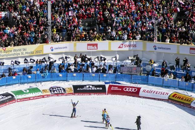 2017 fand die Ski-WM in St.Moritz statt