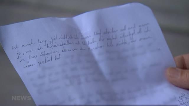 Brief von Thomas N. an die Hinterbliebenen