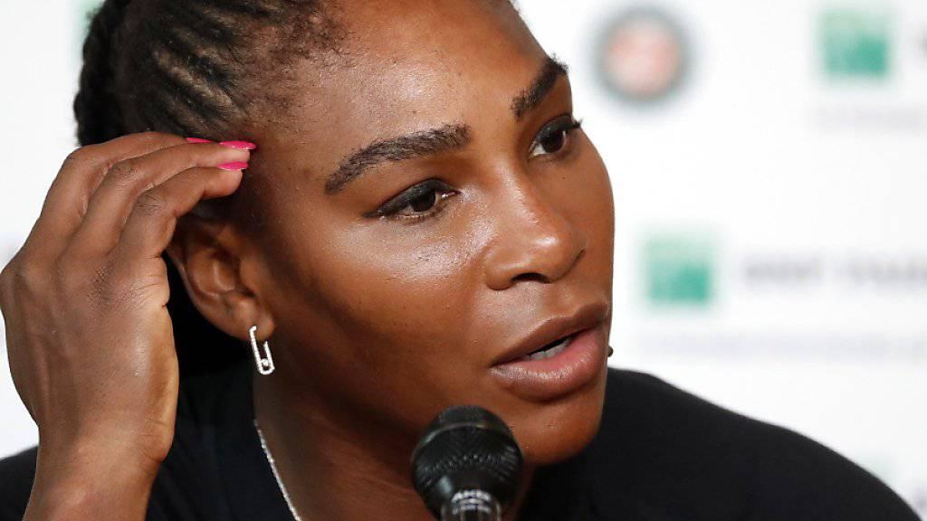 Musste schweren Herzens Forfait erklären: Serena Williams