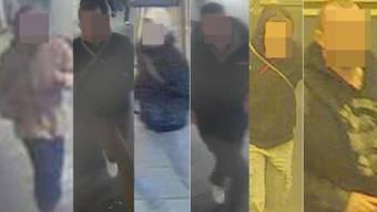 Polizei publiziert Hooligans-Bilder