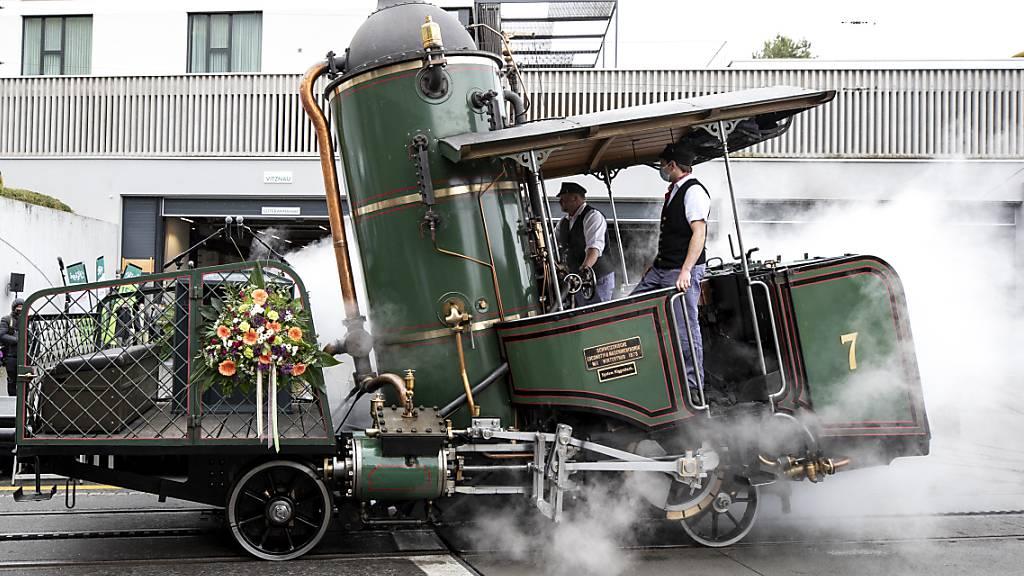Bundesrätin Sommaruga lobt bei Rigi-Bahn-Jubiläumsfest Pioniergeist