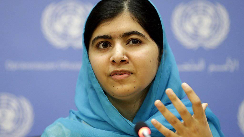 Malala Yousafzai wird UNO-Friedensbotschafterin. Die 19-Jährige setzt sich vor allem für das Recht auf Bildung von Mädchen ein. (Archivbild)