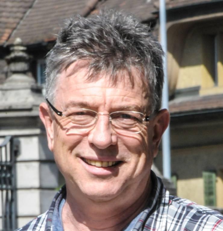 Paul Huwiler, Präsident des Vereins St. Leonhards. Der Verein muss Sponsoren für die Sanierung des Chappelehofs finden.