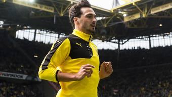 Mats Hummels - hier in einer Aufnahme von 2016 - wird in der kommenden Saison wieder das Dortmunder Gelb-Schwarz tragen.