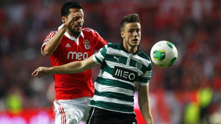 Van Wolfswinkel spielte von 2011 bis 2013 bei Sporting Lissabon.