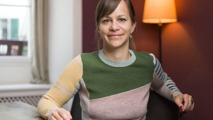 """Erfolgreicher Erstling: Tabea Steiner mit ihrem Debütroman """"Balg"""" für den Schweizer Buchpreis nominiert worden. (Keystone/Gaetan Bally)"""