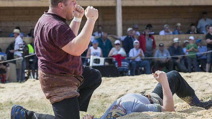 Christian Stucki legt wieder einen um den andern Gegner auf den Rücken