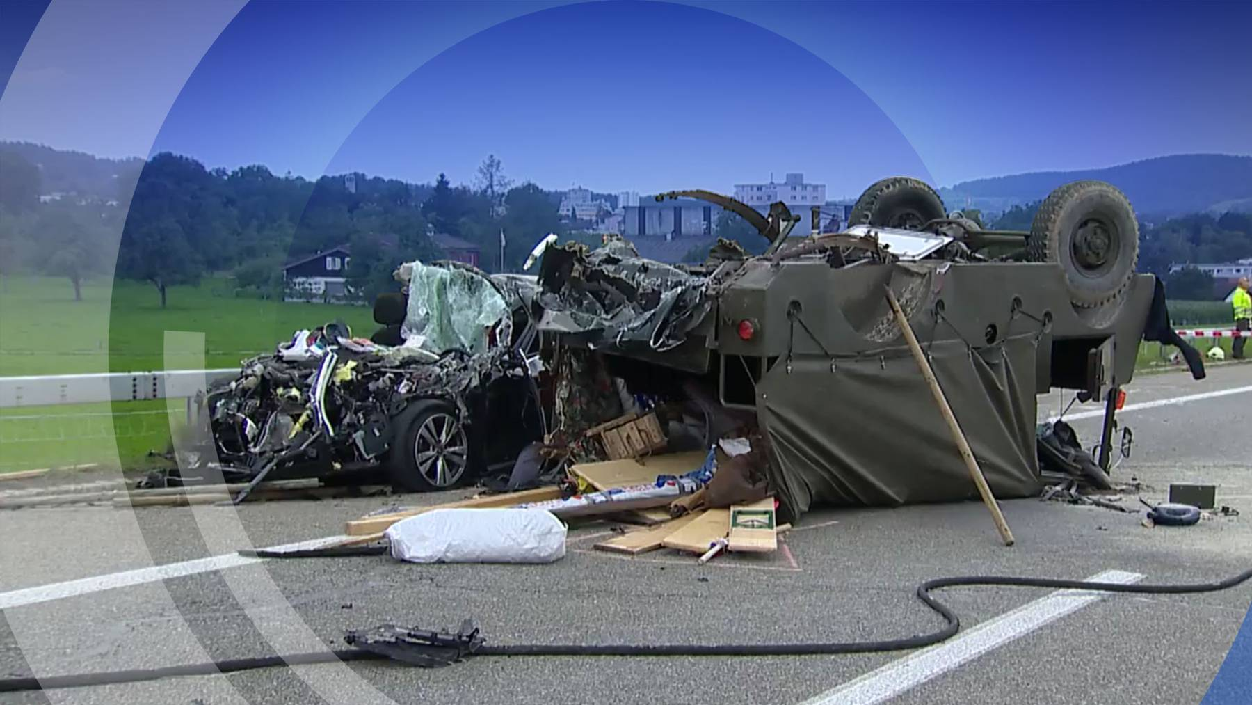 Unfall mit «Convoy To Remember»-Fahrzeug