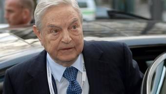 Der Börsenguru George Soros hat einen Grossteil seines Vermögens in seine Stiftung übertragen. (Archiv)