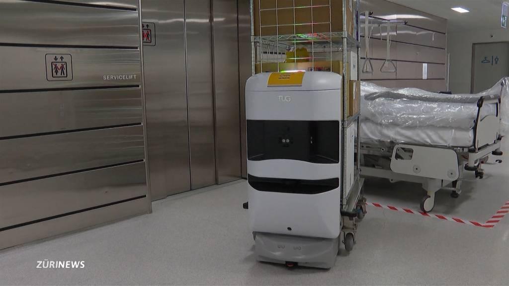 Schulthess-Klinik beschäftigt als erstes Spital einen Roboter