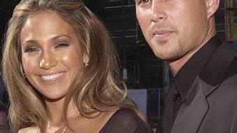 Jennifer Lopez mit Ex-Mann Chris Judd (Archiv)