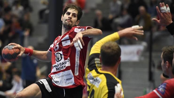 Konnten sich trotz erneuter Niederlage im Spiel gegen die Berner steigern: Christian Riechsteiner und der TV Endingen.