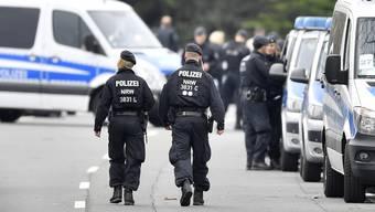 Explosion am Mannschaftsbus von Borussia Dortmund (11.04.17)
