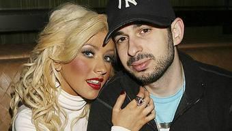 Christina Aguilera mit Ehemann Jordan Bratman (Archiv)