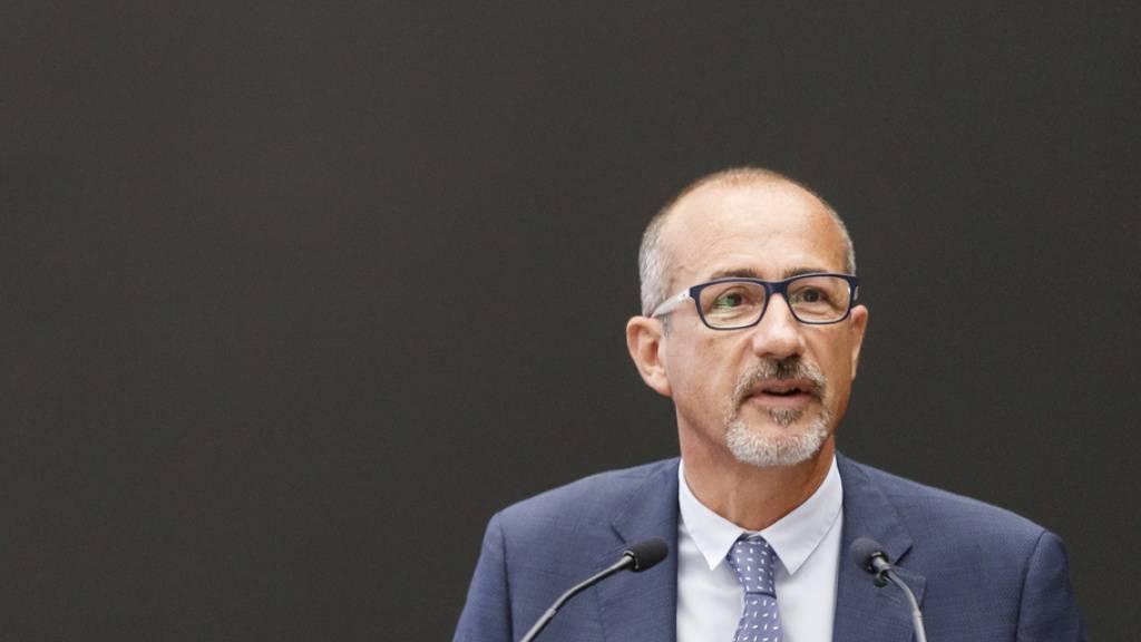 Nach scharfer Kritik: Spitaldirektor Pascal Rubin tritt zurück. (Archivbild)