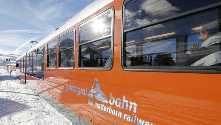 Thailänderinnen und Taiwanesen wollen das Matterhorn sehen: Das Bahn- und Touristikunternehmen BVZ Holding, das unter anderem die Gornergrat Bahn betreibt, ist gut ins 2017 gestartet. (Archiv)