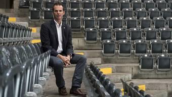 Sven Leuenberger tauscht die Berner Arena gegen das Hallenstadion ein.
