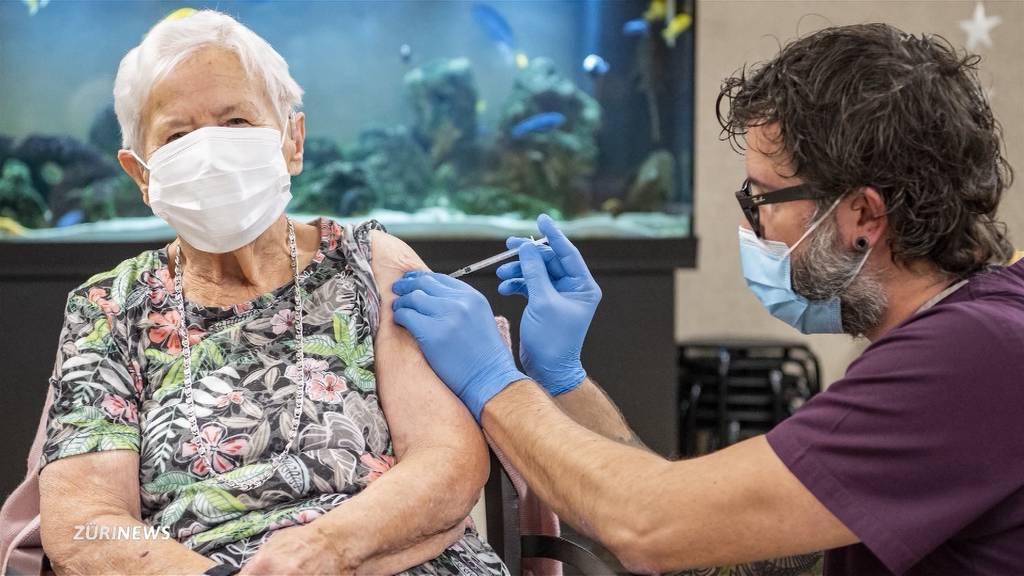 Corona-Impfstart in der Schweiz