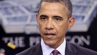 US-Präsident Barack Obama stellt die neue Strategie vor