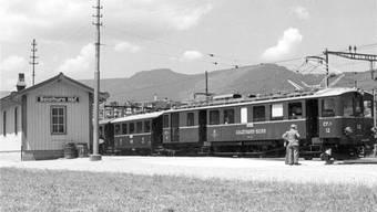 Idylle am Bahnhof in Solothurn.