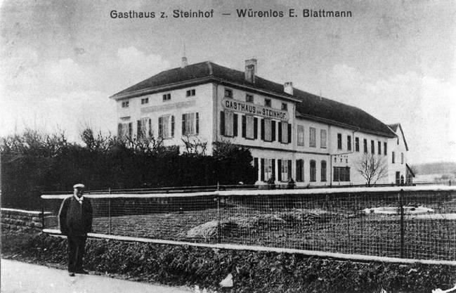 Der Steinhof um 1910