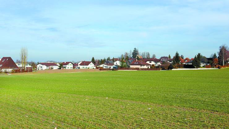 Ein Dorf im Wandel: Bätterkinden sieht heute so aus – welche Gebäude im 12./13. Jahrhundert in der Gemeinde standen, soll dereinst die Dorfchronik dokumentieren.  (Oliver Menge)