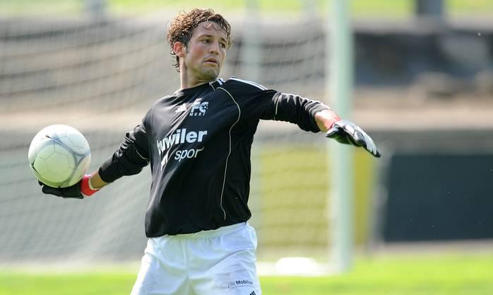 Muris Goalie Reto Felder