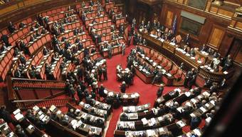 Der italienische Senat hat die Schuldenbremse gutgeheissen (Archiv)
