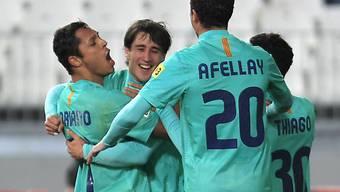 Barça mit Gesamtskore von 8:0 gegen Almeria im Cupfinal